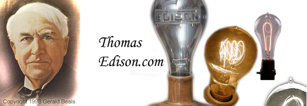 Thomas Edison Homepage